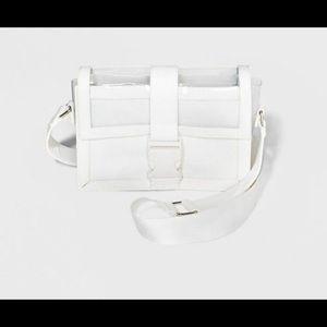 White Clear Purse